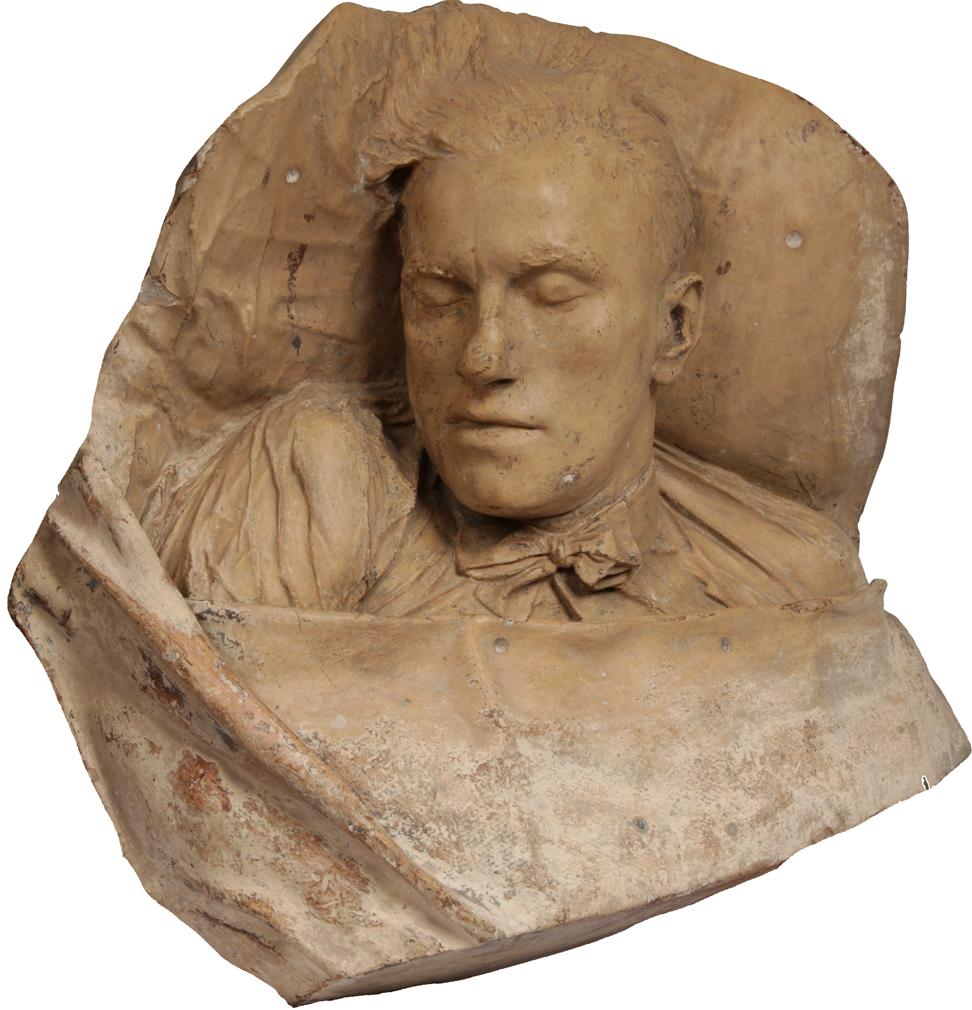 Владимир Маяковкий, посмертная маска