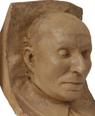 Антон Макаренко, посмертная маска