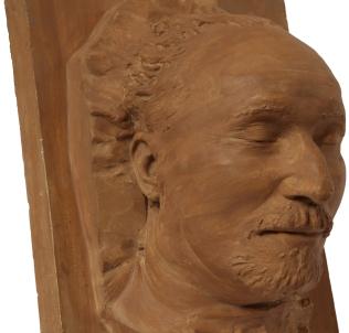 Николай Подвойский, посмертная маска