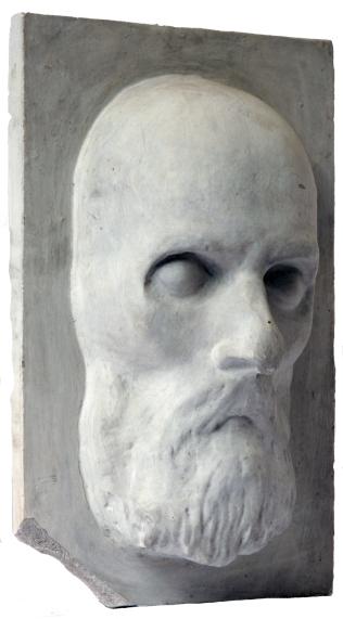 Константин Циолоковский, посмертная маска